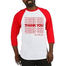Thank You Bag Baseball Jersey