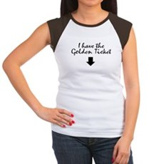 I have the Golden Ticket Womens Cap Sleeve T-Shir