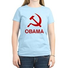 Socialist Obama Womens Light T-Shirt