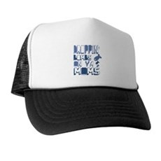 Droppin' Bombs on Ya Moms Trucker Hat