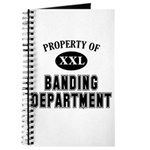 Property of Banding Dept Journal
