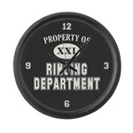 Property of Ringing Dept Large Wall Clock