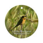 Little Bee-eater Ornament (Round)