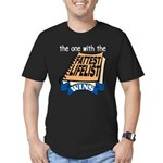 Fattest Lifelist Wins Men's Fitted T-Shirt (dark)