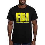 Fanatic Birding Indivi Men's Fitted T-Shirt (dark)