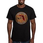 Florida Birder Men's Fitted T-Shirt (dark)