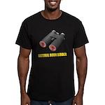 Natural Born Birder Men's Fitted T-Shirt (dark)