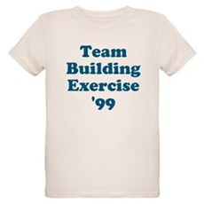 Team Building Exercise '99 Organic Kids T-Shirt