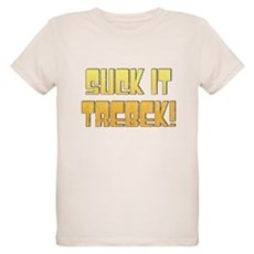 Suck it Trebek! Organic Kids T-Shirt