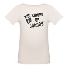 Smoke Up Johnny Organic Baby T-Shirt