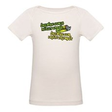 Chewing gum is really gross Organic Baby T-Shirt