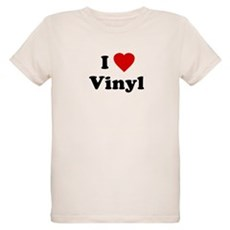 I Love Vinyl Organic Kids T-Shirt