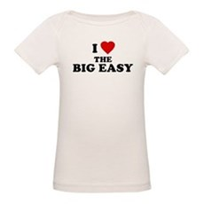 I Love [Heart] the Big Easy Organic Baby T-Shirt