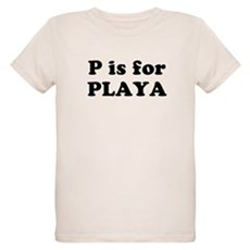 P is for PLAYA Organic Kids T-Shirt