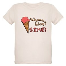Wanna Lick? Organic Kids T-Shirt