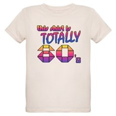 This Shirt is Totally 80's Organic Kids T-Shirt