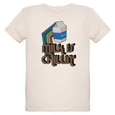 Milk is Chillin' Organic Kids T-Shirt