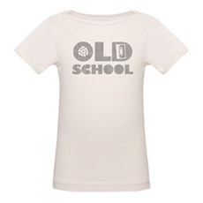 Old School (Distressed) Organic Baby T-Shirt