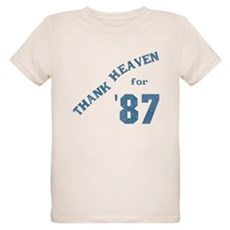 Thank Heaven for '87 Organic Kids T-Shirt