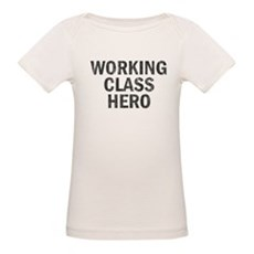 Working Class Hero Organic Baby T-Shirt