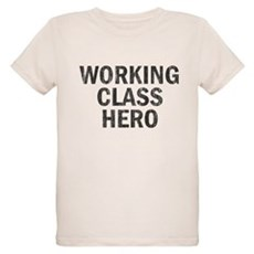 Working Class Hero Organic Kids T-Shirt