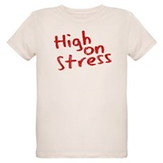 High on Stress Organic Kids T-Shirt
