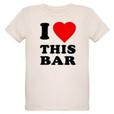 I Love This Bar Organic Kids T-Shirt
