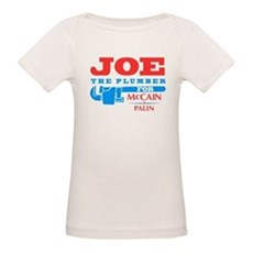 Joe the Plumber for McCain Organic Baby T-Shirt