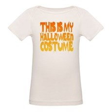 This is My Halloween Costume Organic Baby T-Shirt