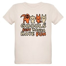 Ghouls Just Wanna Have Fun Organic Kids T-Shirt