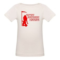 Support Independent Horrors Organic Baby T-Shirt