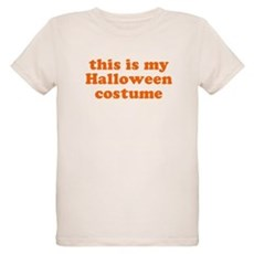 This is my Halloween costume Organic Kids T-Shirt