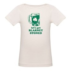 Let's Get Blarney Stoned Organic Baby T-Shirt