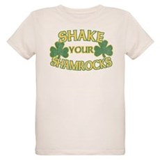 Shake Your Shamrocks Organic Kids T-Shirt