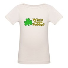 Who's Your Paddy? Organic Baby T-Shirt