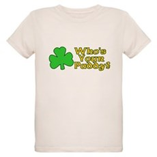Who's Your Paddy? Organic Kids T-Shirt