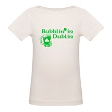 Bubblin' in Dublin Organic Baby T-Shirt