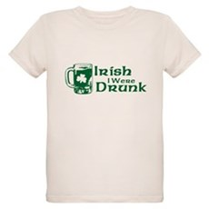 Irish I Were Drunk Organic Kids T-Shirt