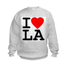 I Love LA Kids Sweatshirt
