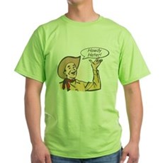 Howdy Hater Green T-Shirt
