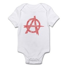Vintage Anarachy Symbol Infant Bodysuit