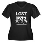 Lost with Sawyer since 1977 Women's Plus Size V-Ne