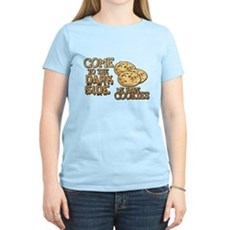 Come To The Dark Side Womens Light T-Shirt