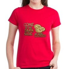 Come To The Dark Side Womens T-Shirt