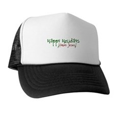 Happy Holidays from Jesus Trucker Hat