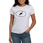 Crane Oval Women's T-Shirt