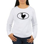 Dodo Oval Women's Long Sleeve T-Shirt