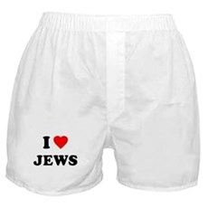 I Love Jews Boxer Shorts