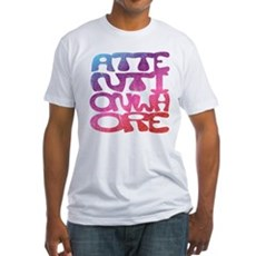 Attention Whore Fitted T-Shirt