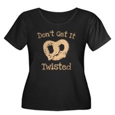 Don't Get It Twisted Womens Plus Size Scoop Neck